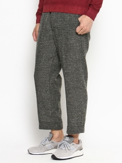 Woven Patterned Easyトラウザーズ