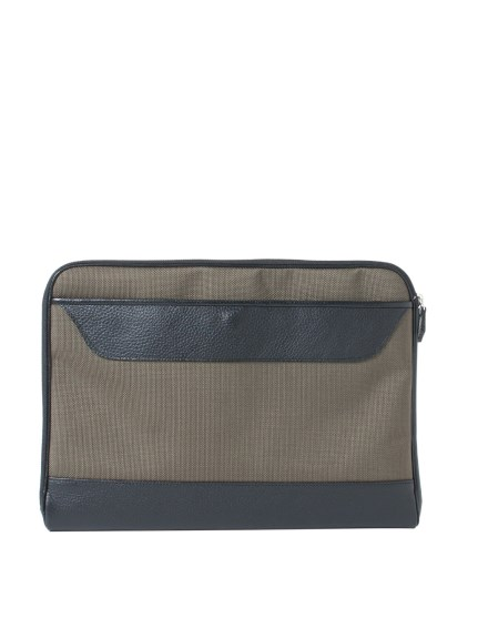 ジェイエムシー(jmc)のJMC Leather&Nylon Document Case Khaki BAGS / バッグ