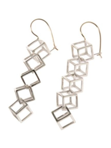 パトリシア マデア(PATRICIA MADEJA)のSquare Chain Pierce ACCESSORIES / アクセサリー