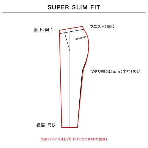 SUPER SLIM FIT 画像